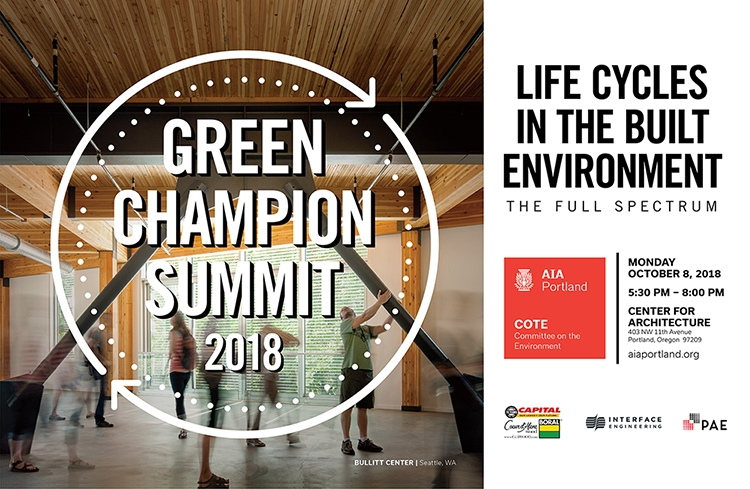 AIA PDX COTE Green Champions Summit